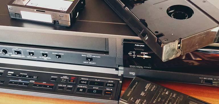 Перезапись с видеокассеты на диск